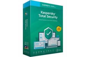 Антивірус Kaspersky Total Security 2 ПК 1 year Base License, 1-Account KPM / KSK (KL1949OCBFS)