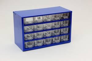 Скидка 30% до 31.05.20 Органайзер К20, кассетница, сортовик, ящик, ячейка для мелочей, деталей, метизов, бисера