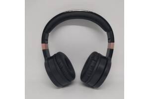 Беспроводные Bluetooth Стерео наушники Gorsun GS-E88A Черные с золотым