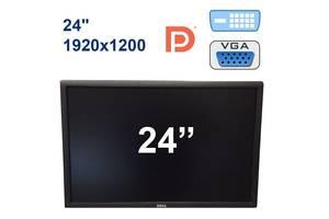 "(БЕЗ НОЖКИ) Dell U2412MB / 24"" (1920x1200) IPS LED / DP, DVI, VGA, USB"