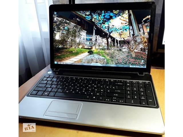 Большой игровой ноутбук eMachines E730G.- объявление о продаже  в Киеве