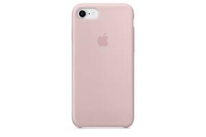 Чохол Apple Silicone Case для iPhone 7 Pink Sand (1650)