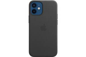 Чехол для моб. телефона Apple iPhone 12 mini Leather Case with MagSafe - Black (MHKA3ZE/A)