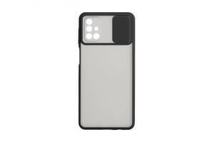 Чехол для Samsung M31s Полупрозрачный Бежевый / Черный / Зеленый