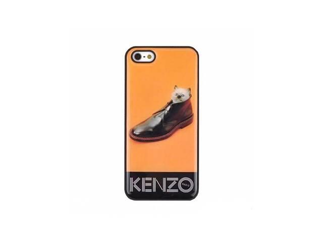 купить бу Чехол - накладка Kenzo Kitten in Shoes iPhone 5S в Харькове