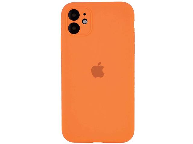 "купить бу Чехол Silicone Case Square Full Camera Protective (AA) для Apple iPhone 11 (6.1"") в Одессе"