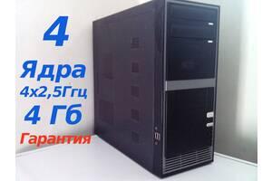 Cистемный Блок 4 Ядра,(4х2,33) Xeon, 160Гб,  4Гб