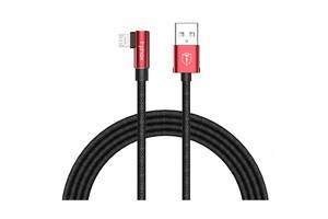 Дата кабель USB 2.0 AM to Micro 5P 1.2m Champion T-L804 Black/Red T-PHOX (T-L804 Black/Red)