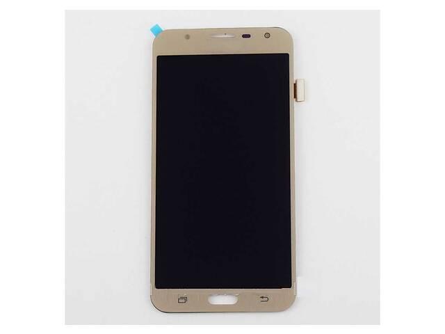 бу Дисплей (LCD) Samsung J701 Galaxy J7 Neo (2017) OLED с сенсором золотой в Харькове