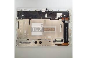 Дисплей (сборка экран и сенсор) в рамке Asus ME102A (K00F) Orig Б/У