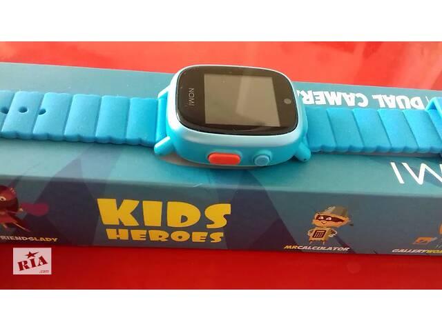 купить бу Дитячий годинник Nomi Kids Heroes W2 Blue  в Україні