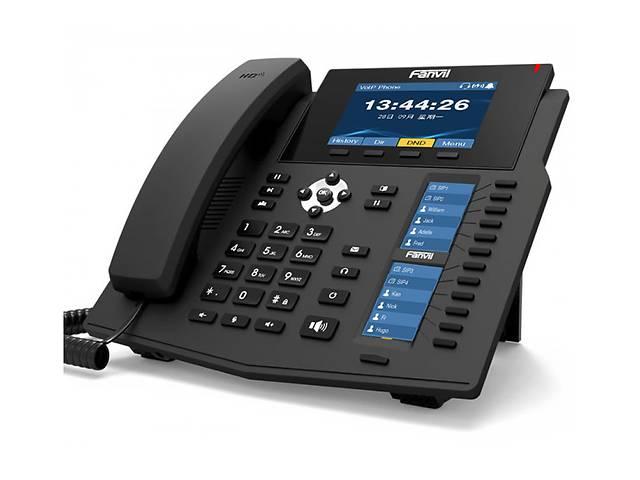 Fanvil X6U, sip телефон премиум класса, 20 SIP-аккаунтов, RJ9, USB, PoE- объявление о продаже  в Киеве