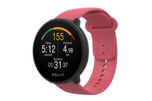Фитнес часы с пульсометром Polar Unite pink