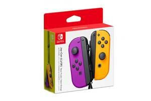 Геймпад Nintendo Neon Purple/Neon Orange Joy-Con Left/Right