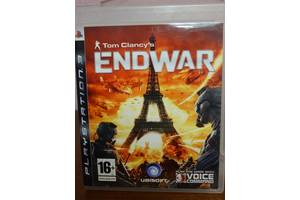 Игра Tom Clancy's ENDWAR для Playstation 3