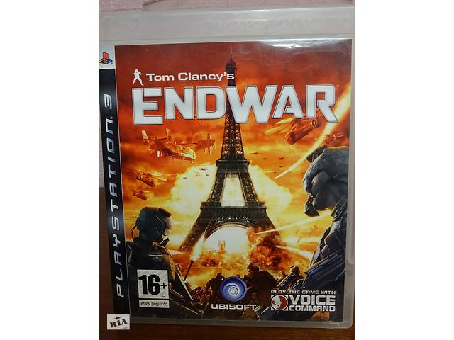 купить бу Игра Tom Clancy's ENDWAR для Playstation 3 в Киеве