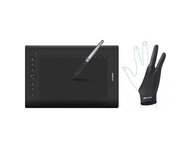 купить бу Графический планшет Huion H610Pro V2 (H610PROV2) в Киеве