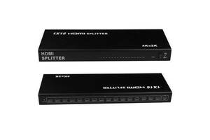 HDMI 1x16 портов 4K 3D сплиттер, разветвитель, коммутатор