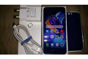 Huawei Honor 9 4/64Gb Sapphire Blue STF-L09 Чохол Зарядний Коробка