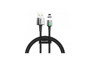 Кабель Кабель Baseus Zinc Magnetic Cable USB For iP 2.4A 1m Black