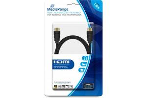 Кабель мультимедийный HDMI to HDMI 1.8m V2.0 MediaRange (MRCS156)