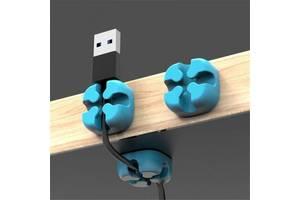 Кабельный фиксатор ORICO Blue для 1 кабеля