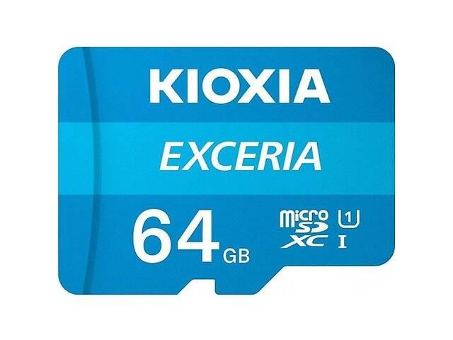 продам Карта памяти Kioxia Exceria microSDHC 64GB Class 10 UHS I + ad (Код товара:16275) бу в Харькове