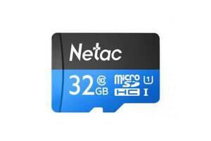 Карта памяти Netac 32GB microSD class 10 UHS-I U1 (NT02P500STN-032G-R)