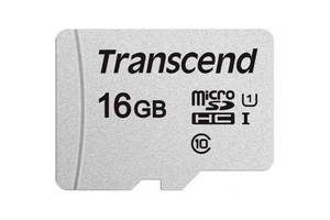 Карта памяти Transcend microSD 16GB 300S (Код товара:16123)