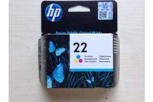 Картридж струйный HP 22 C9352AE 5 ml color трехцветный