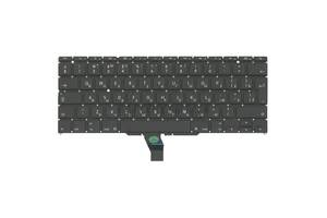Клавиатура Apple MacBook Air 2011+ (A1370) с подсветкой (Light) Black, (No Frame), RU (вертикальный энтер)