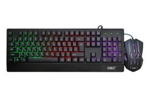 Клавиатура проводная и мышка UKC 4958