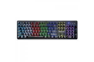 Клавиатура REAL-EL M47 RGB, black