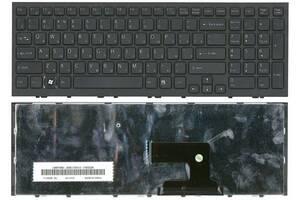Клавиатура Sony Vaio (VPC-EH, VPCEH) Black, (Black Frame) RU