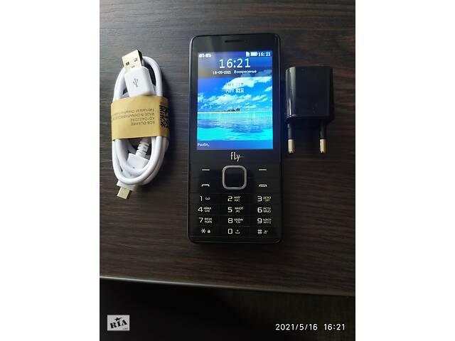 купить бу Кнопочный мобильный телефон Fly FF301 в Днепрорудном