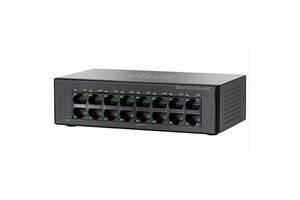 Коммутатор сетевой Cisco SF110D-16-EU
