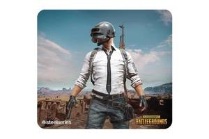 Коврик для мышки SteelSeries QcK+ PUBG Miramar Edition (63808)