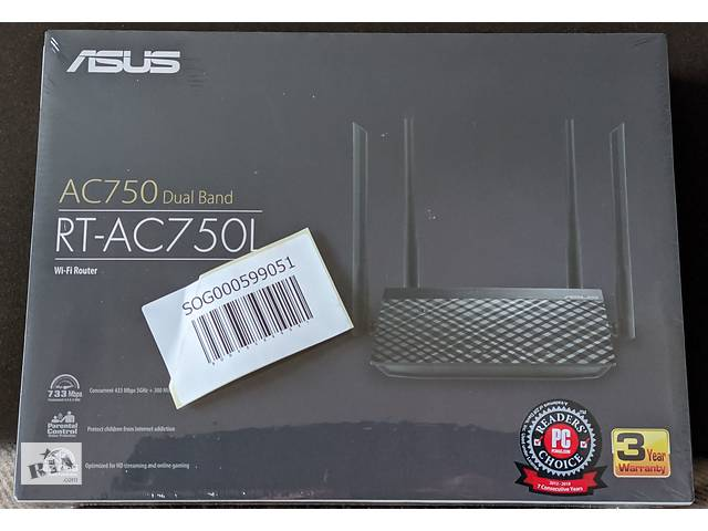 продам Маршрутизатор Asus RT-AC750L бу в Киеве