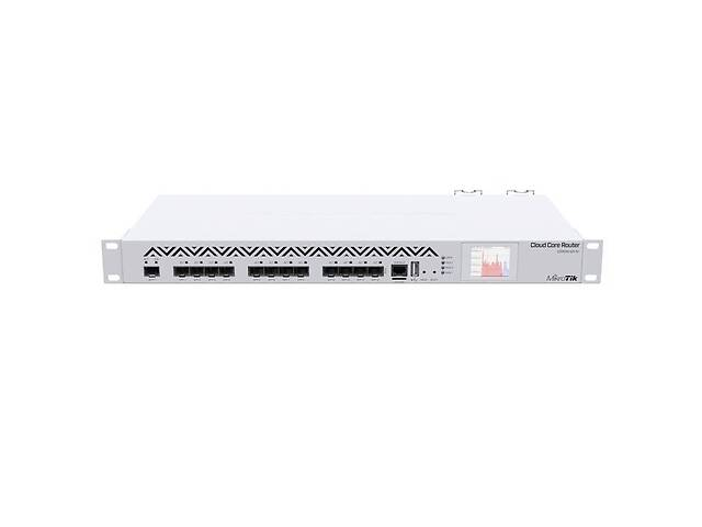 бу Маршрутизатор MikroTik Cloud Core Router CCR1016-12S-1S+ (CCR1016-12S-1S+) в Киеве