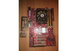 Душица MSI MS-7369 + Двух Ядерный Npouecop Athlon + 4Гб Озу