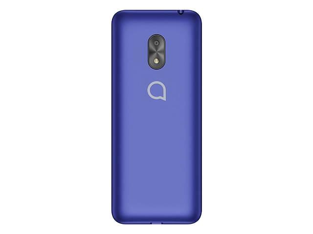 купить бу Мобильный телефон Alcatel 2003 Dual Metallic Blue (2003D-2BALUA1); 2.4 (240x320) TN / кнопочный моноблок / Spreadtrum... в Харькове