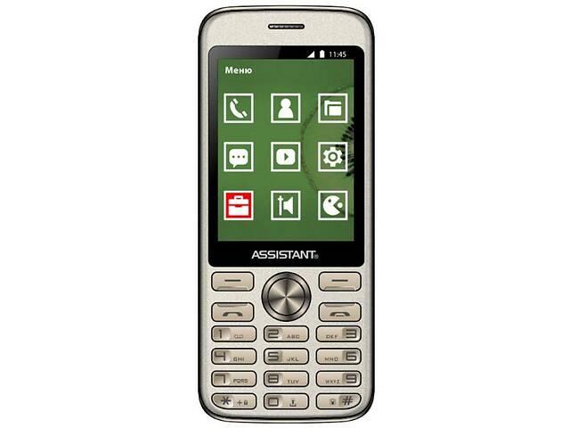 купить бу Мобильный телефон Assistant AS-204 Gold в Киеве