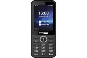 Мобильный телефон Maxcom MM814 Black