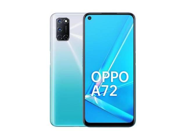 купить бу Мобильный телефон Oppo A72 4/128GB Shining White (OFCPH2067_WHITE) в Харькове