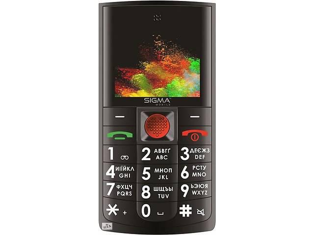 купить бу Мобильный телефон Sigma mobile Comfort 50 Solo Dual Sim Black; 2.2 в Харкові