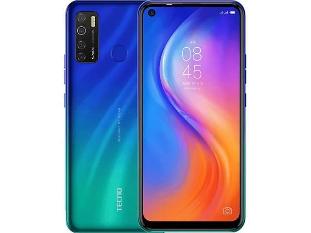 продам Мобильный телефон TECNO KD7 (Spark 5 Pro 4/64Gb) Seabed Blue (4895180756467) бу в Киеве
