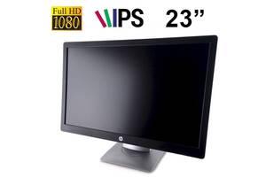 """Монитор - Класс B - HP EliteDisplay E232 Class A / 23"""" 1920x1080 (16:9) IPS WLED / VGA, DP, HDMI Black (царапины на з..."""