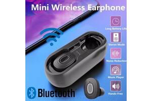Міні-навушники бездротові з Bluetooth 5. 0 3D стерео водонепроникні