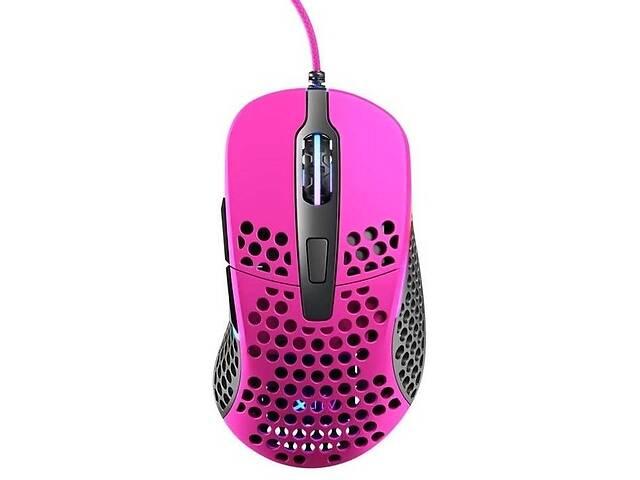 купить бу Мышь игровая Xtrfy M4 RGB, Pink  в Украине