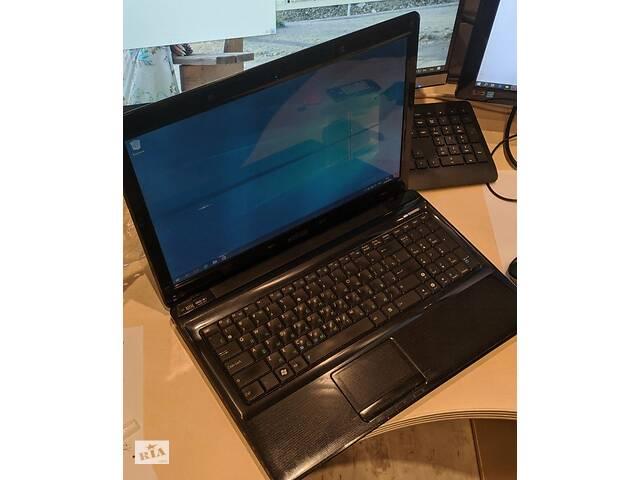 Надежный, довольно быстрый ноутбук в хорошем состоянии Asus А52F